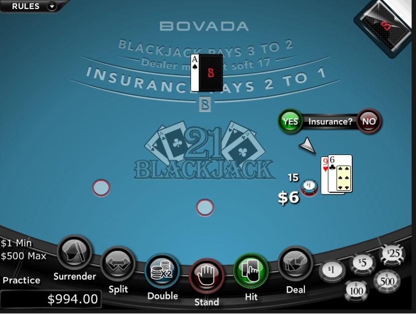 Bovada betting