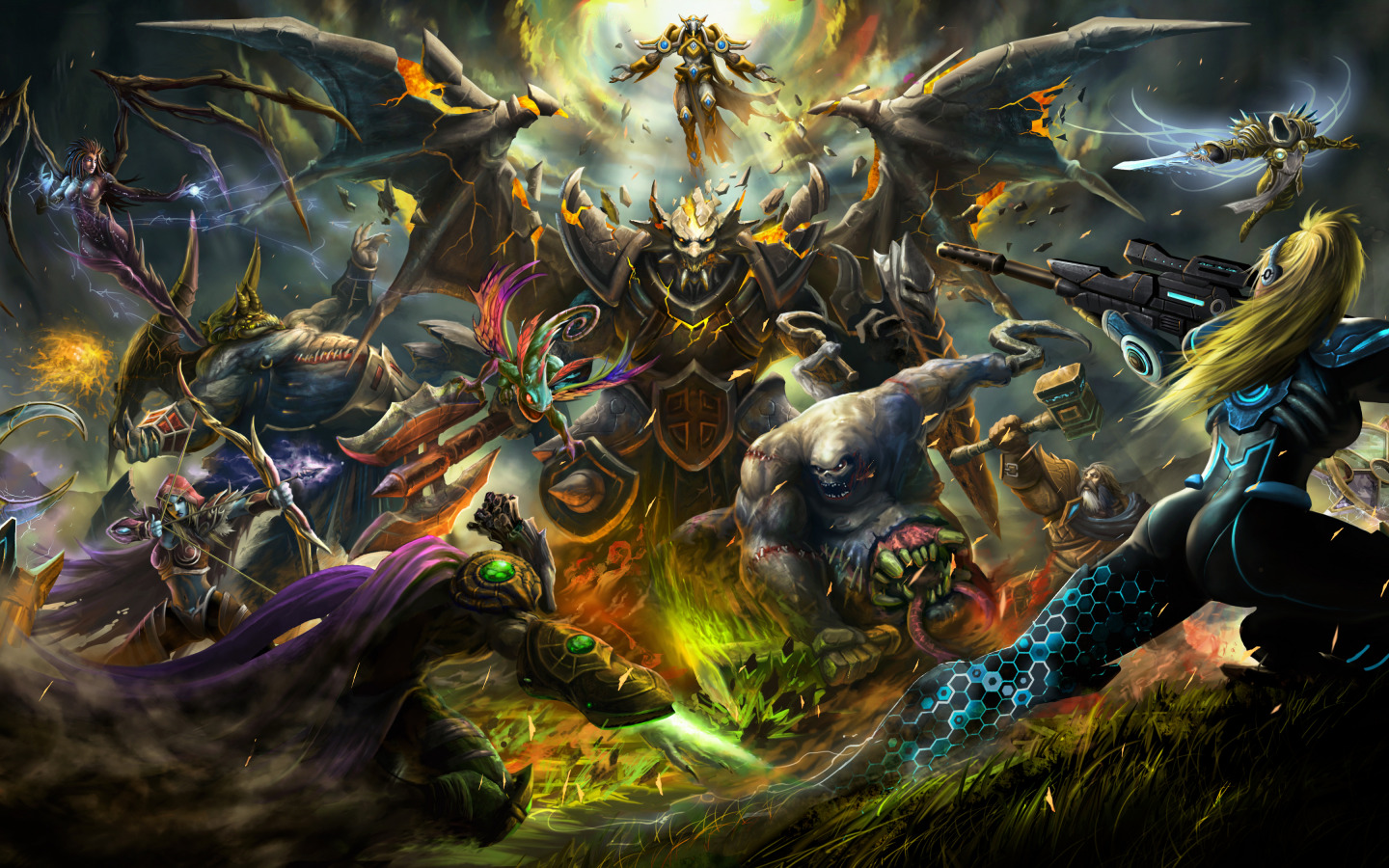 Heroes Of The Storm battle