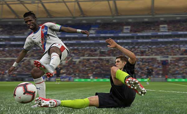 Pro Evolution Soccer gameplay