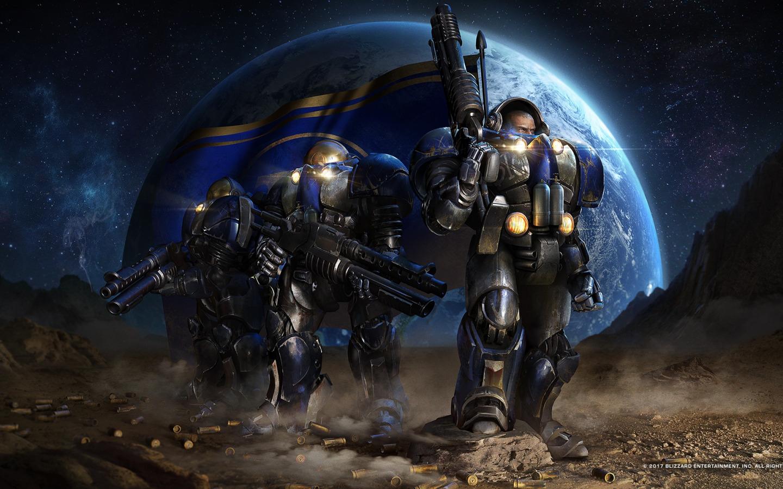 starcraft space marines