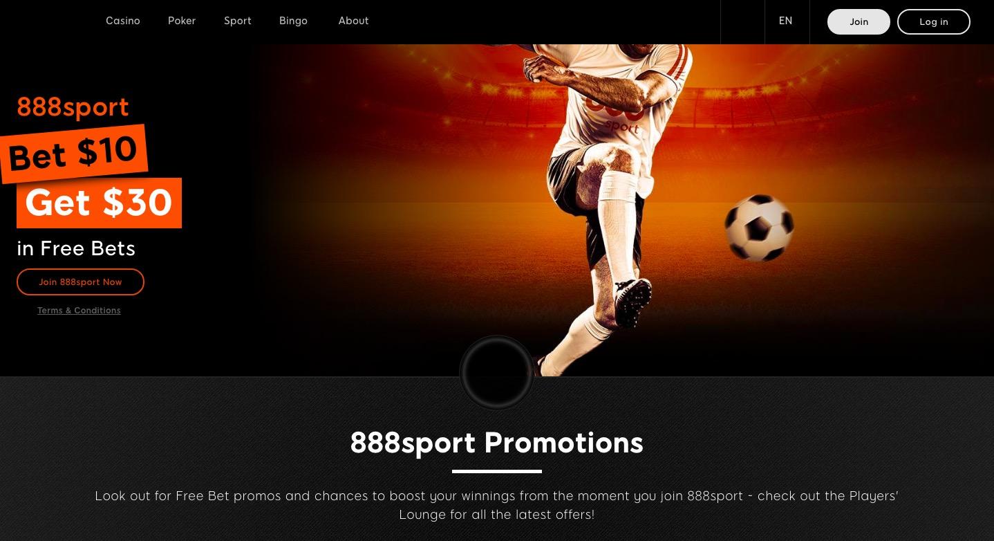 888Sports main page