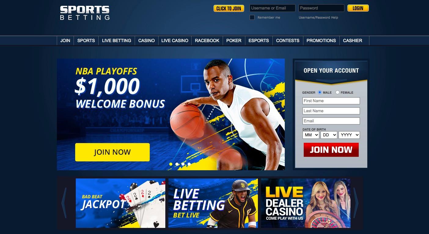Sportsbetting.agmain page